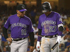 Trevor Story leaves with elbow injury vs Dodgers