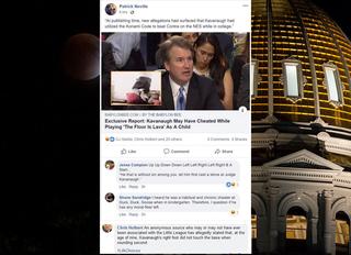 GOPers deny making light of SCOTUS allegations