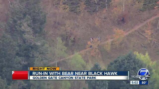 Bear attacks woman in Colorado-s Golden Gate Canyon State Park