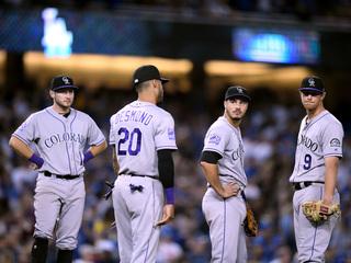 Dodgers sweep Rockies, 5-2, Wednesday night