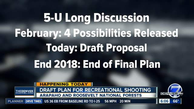 Draft proposal released Thursday on recreational shooting in Arapaho-…