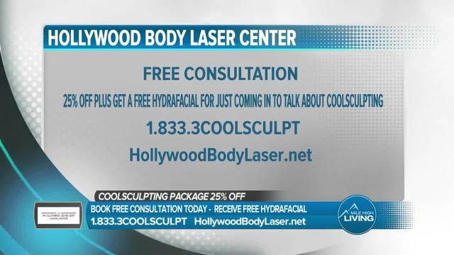 Freeze your fat cells with Hollywood Body Laser Center-