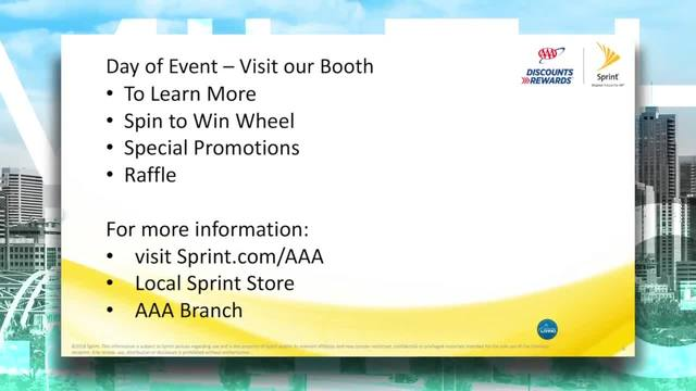 Sprint- Save money with a AAA membership
