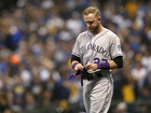 Rockies lose 4-0 to Brewers in Game 2 of NLDS