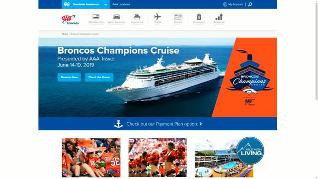 AAA- Broncos Champions Cruise Presented by AAA Travel