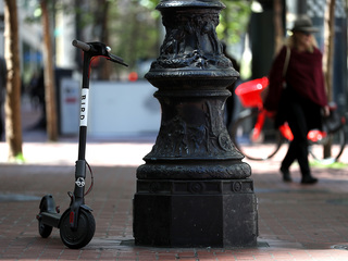 Lawsuit targets electric scooter companies