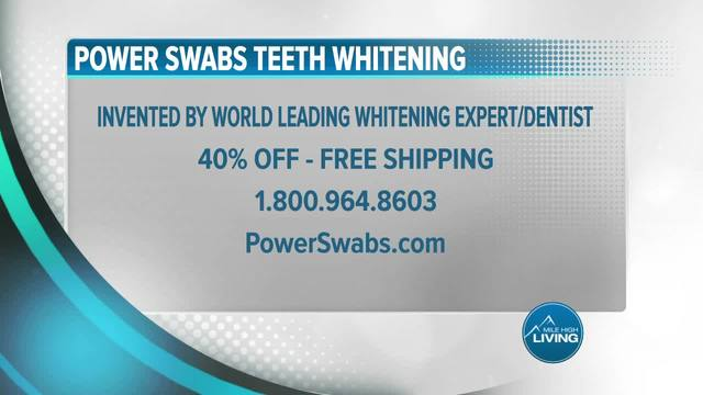 Power Swabs- Receive 40 Percent Off With Free Shipping