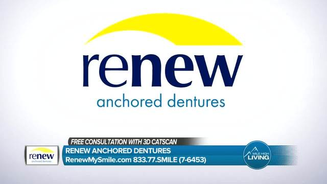 Renew Anchored Dentures- Receive a Free Consultation with 3D Catscan