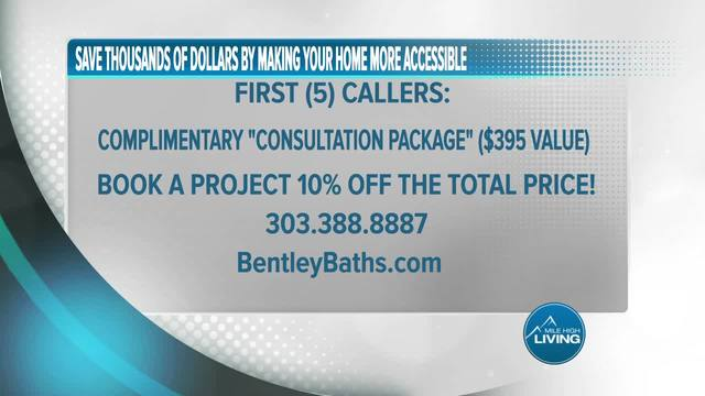 Bentley Baths- Book a Project and Get 10 Percent Off Total Price