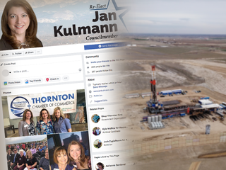Activists sue Thornton over Facebook free speech