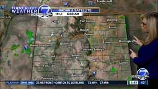 Warmer temps this weekend for Denver