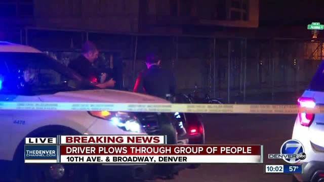 3 people injured in Denver hit-and-run- driver fled the scene- police say