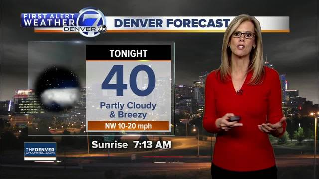 Mild and sunny days for Denver through the weekend-