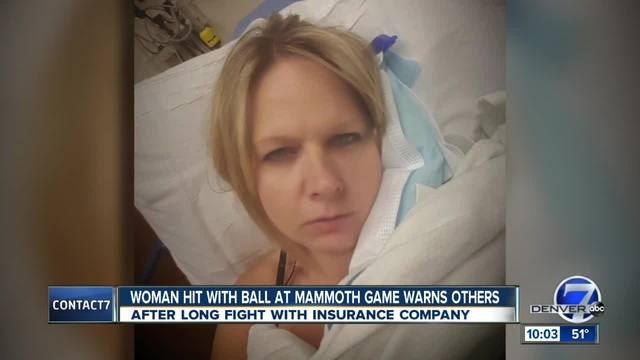 Woman struck at Pepsi Center sporting event dealing with life-changing…