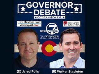 Final Colorado gov's debate set for Tues. at DU