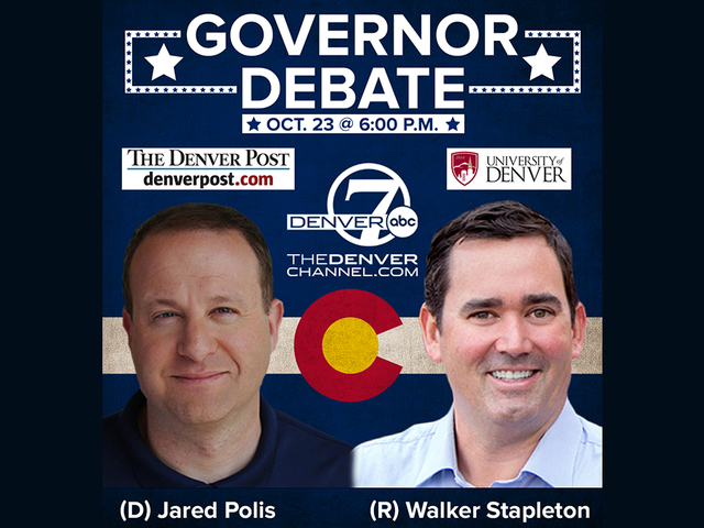 Live: Polis, Stapleton square off in last debate