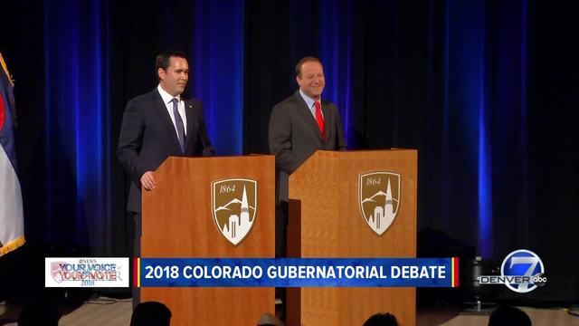 Recap: Polis, Stapleton square off in debate
