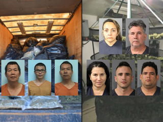 Authorities uncover illegal pot grow operations