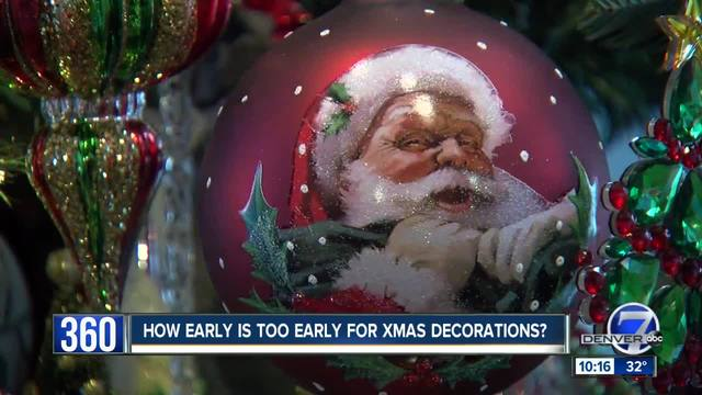when is too early to put up the christmas lights - When To Put Up Christmas Decorations