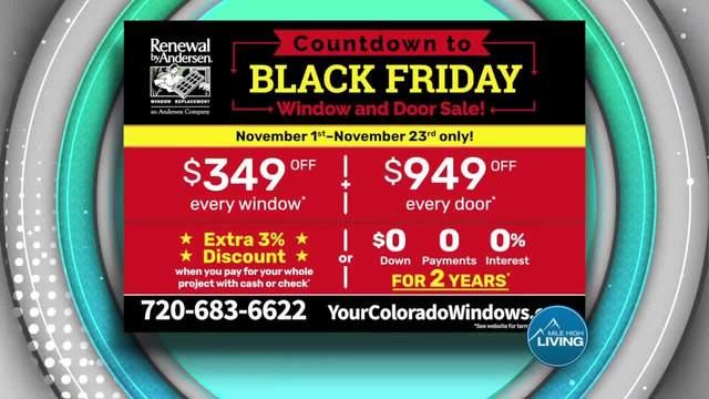Renewal by Andersen Black Friday Sale
