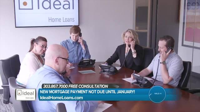 Ideal Home Loans- New Mortgage Payment Not Due Until January-
