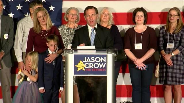 Democrat Jason Crow Defeats Incumbent Republican Rep. Mike ...