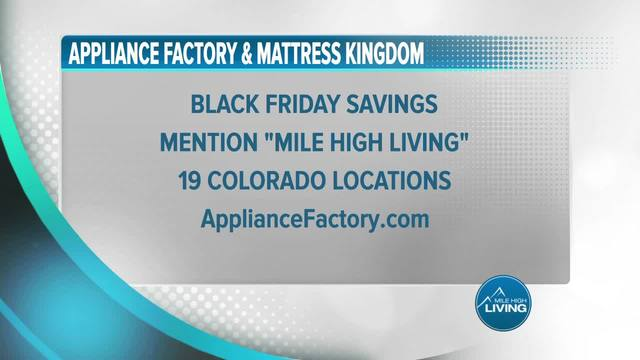Appliance Factory- Black Friday Prices Available Now