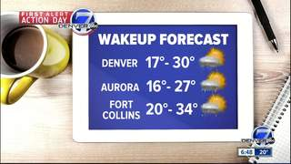Snow over, cold will leave, milder days ahead