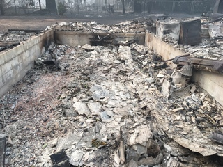 CO family loses everything in California fire