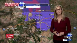 Cold air moves in for Saturday