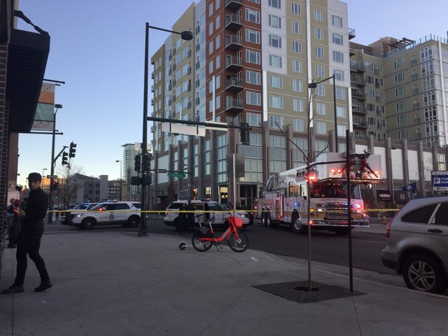 3 wounded, 1 dead in downtown Denver shooting