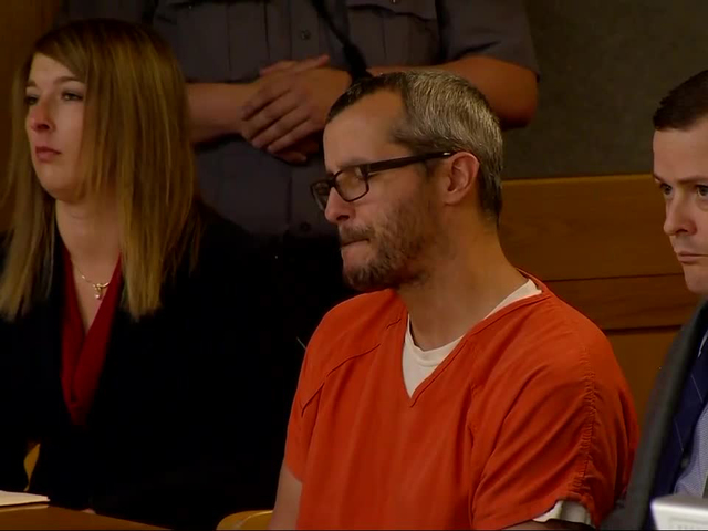 Chris Watts sentenced to 5 life terms