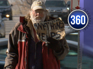 As homeless population grows, so do panhandlers