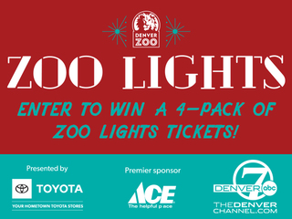 Denver Zoo Lights 2018 Ticket Sweepstakes