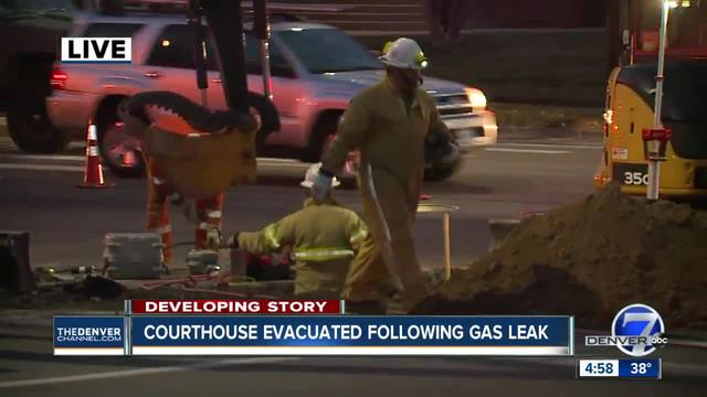 Streets closed- Arapahoe County building evacuated due to gas leak in Littleton