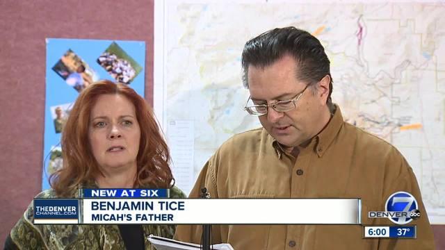 Dad of missing Longs Peak hiker- Micah Tice- blasts National Park…