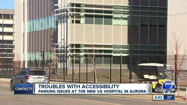 Veterans say parking is a major issue at new VA hospital