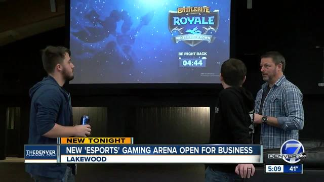 Old Lakewood batting cage transforms into largest Esports arena in Colorado