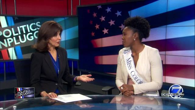 Miss Colorado Ellery Jones opening discussion about sexual assault-…