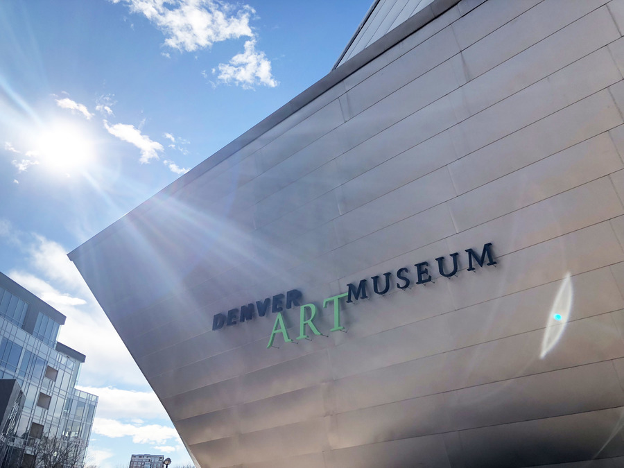 Disturbance at Denver Art Museum leaves pieces of art 'compromised,' one man detained