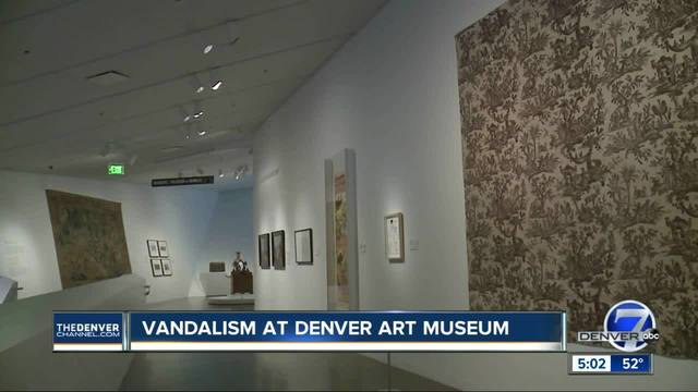 Disturbance at Denver Art Museum leaves pieces of art -compromised-- one…