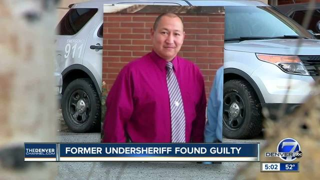 Jury finds former Lake Co- undersheriff guilty