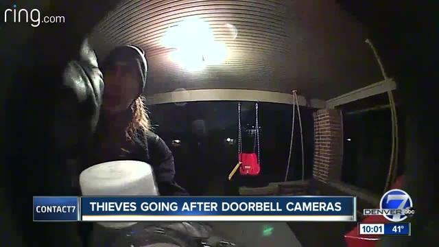 Colorado thief caught on camera stealing video doorbell