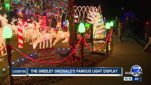 -Greeley Grizwalds- holiday light display to be featured on -The Great…