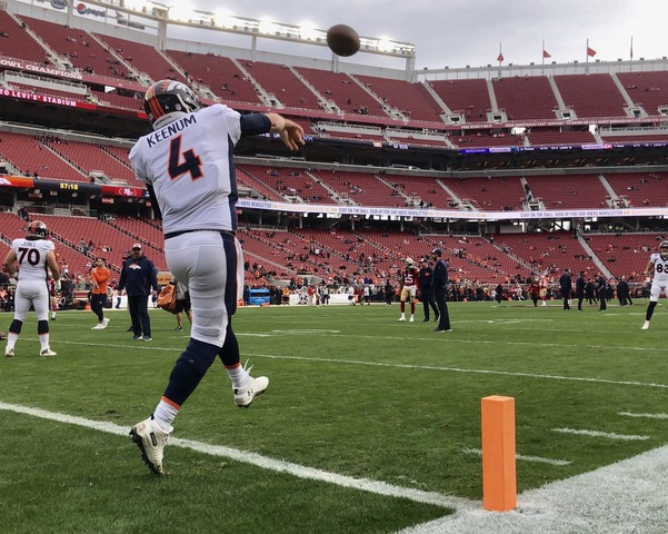 Case Keenum Needs Strong Finish In First Year As Bronco