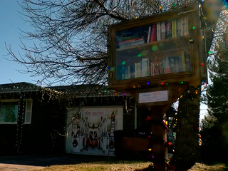 Neighbors come together after tiny library raid