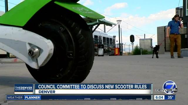 Denver considering new rules for scooters