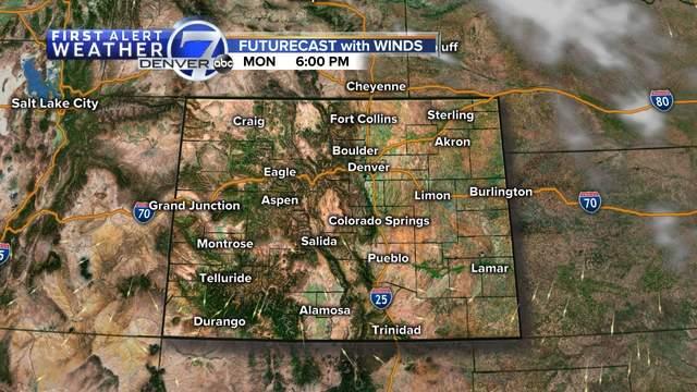 Denver Co Radar And Maps Denver7 Thedenverchannel Com